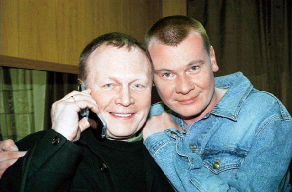 Актер со своим приемным сыном Владиславом Галкиным