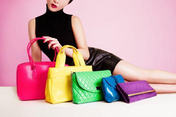 Яркие модели сумок