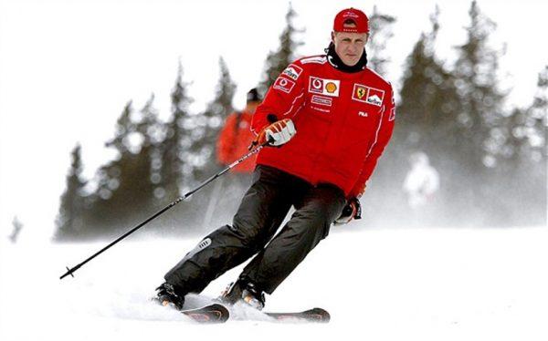 Автогонщик очень любил кататься на лыжах