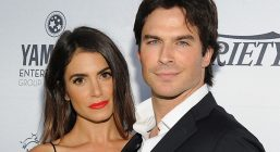 BEVERLY HILLS, CA - SEPTEMBER 18:  Actress Nikki Reed and actor Ian Somerhalder attend Heifer InternationalВ's 4th Annual Beyond Hunger Gala at the Montage on September 18, 2015 in Beverly Hills, California. Heifer International works to end hunger and poverty while caring for the Earth. .  (Photo by Angela Weiss/Getty Images for Heifer International)