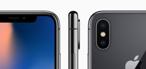 Где находятся камеры iPhone X