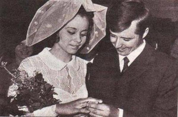 С первым мужем Валерием Макаровым