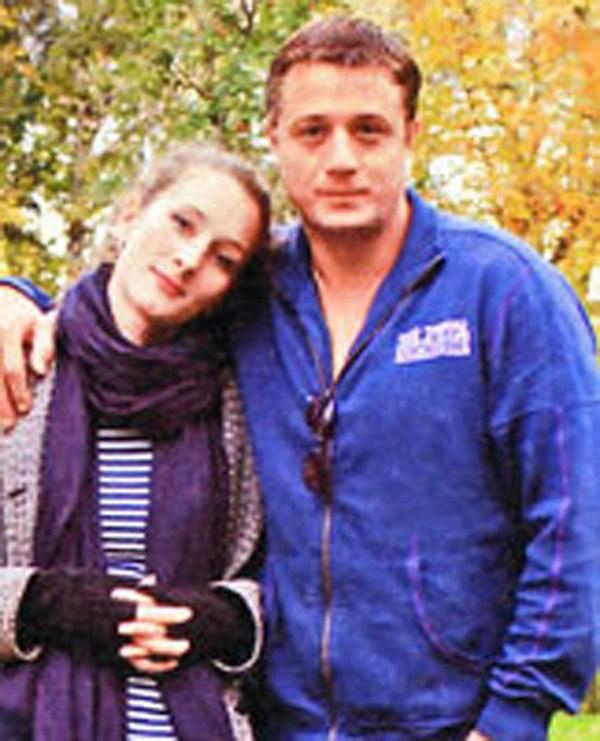 С братом Алексеем Макаровым
