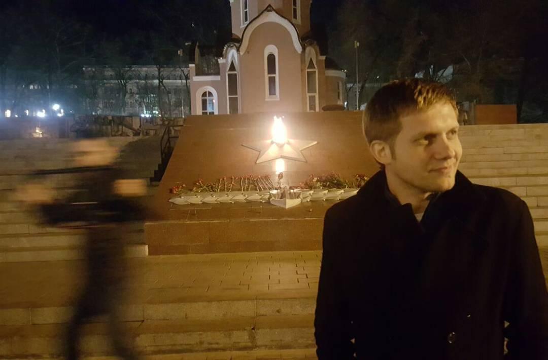 Борис Корчевников путешествует