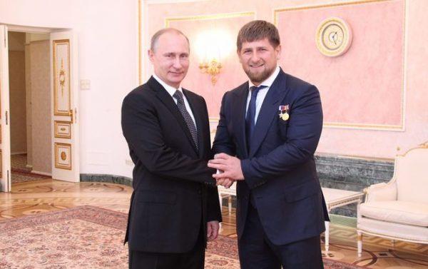 На встрече с Владимиром Путиным