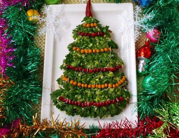 Салаты на Новый год 2018: рецепты с фото пошагово, простые и вкусные