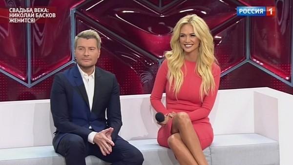 """Николай Басков и Виктория Лопырева в прямом эфире программы """"Прямой эфир"""""""