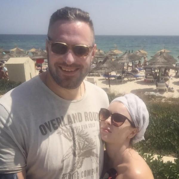 Филипп Васильев со свой второй женой