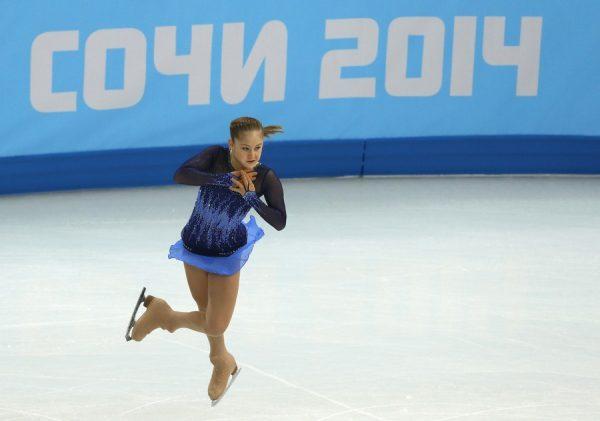 Юлия на Олимпиаде в Сочи