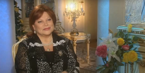 Людмила Рюмина в повседневной жизни