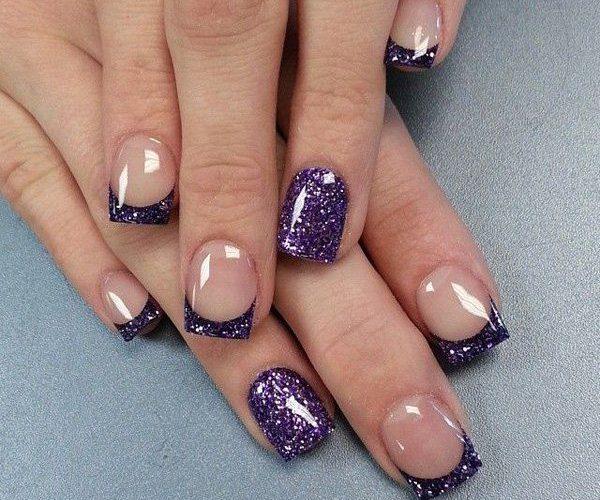 70cf6bc65d685c555945d9cc33809f5a-glitter-french-manicure-glitter-nails-600x500