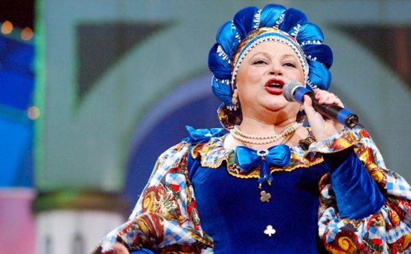 Известная советская и российская певица Л. Рюмина