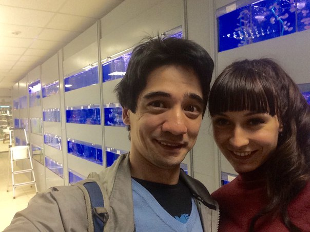 Валеев с бывшей женой Екатериной