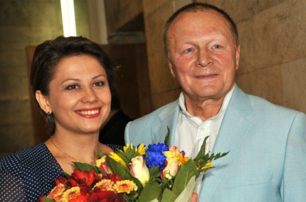 Борис Галкин со второй женой Ириной Разумихиной
