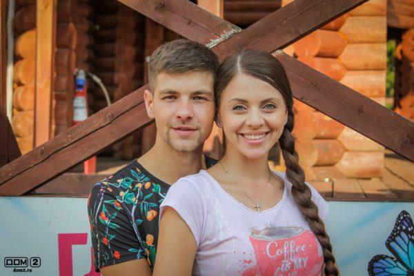 Ольга Рапунцель и Дмитрий Дмитренко на проекте Дом 2