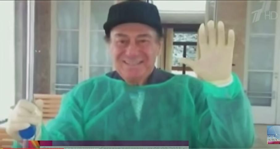 Зураб Соткилава сразу после тяжелейшей операции