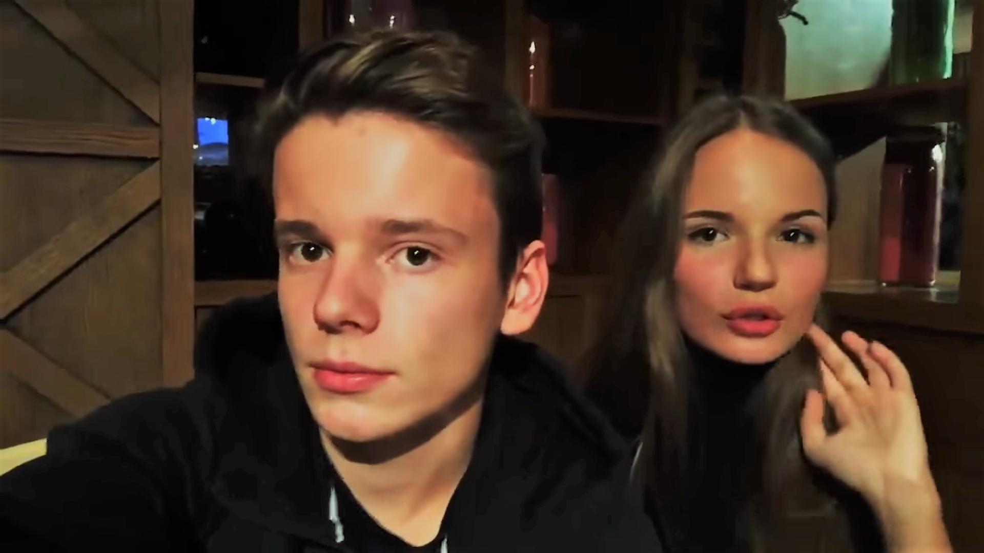Арсений Шульгин и Саша Спилберг