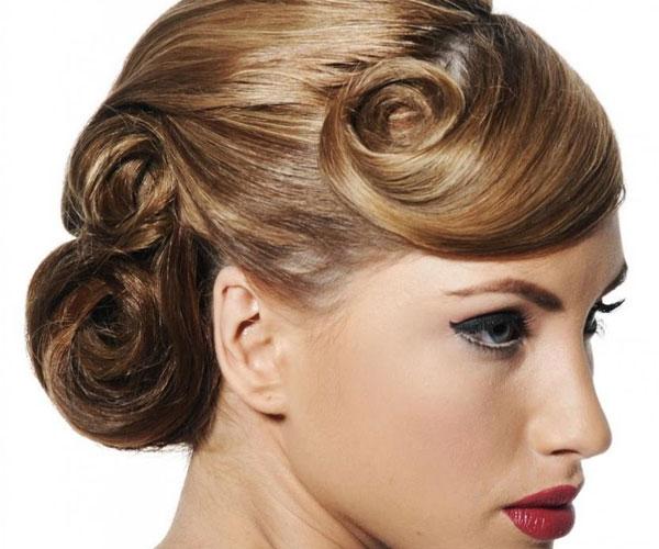 Fancy-Hair-Styles-Bun-Wedding
