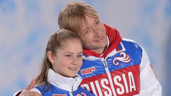 С Евгением Плющенко