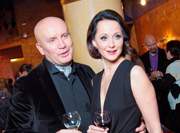 Ольга Кабо со своим мужем