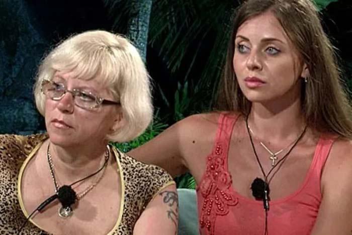 Ольга Рапунцель со своей мамой