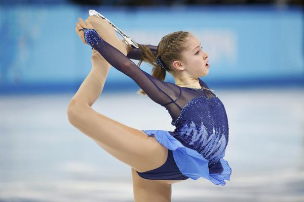 Юлия Липницкая на льду