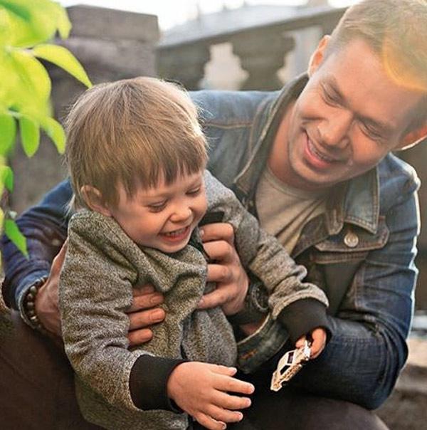 Стас Пьеха со своим сыном