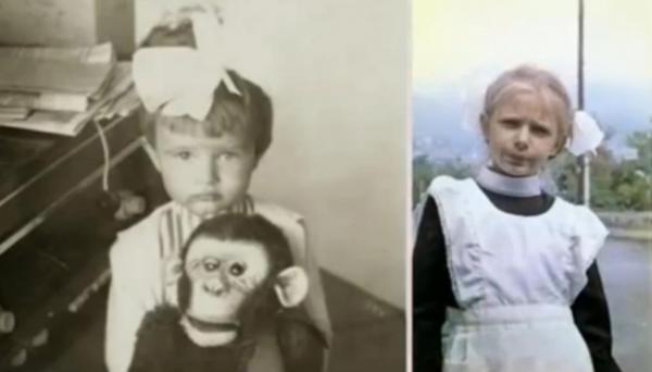 Эвелина Блёданс в школьные годы