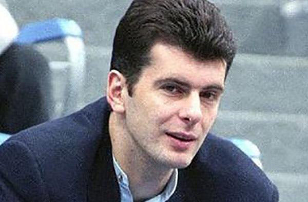 М. Прохоров в молодости