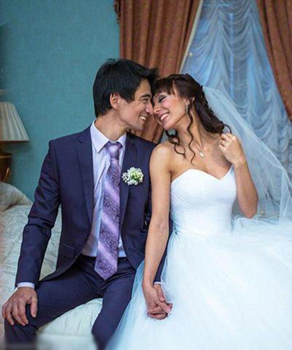 Свадебные фото блогера и его супруги