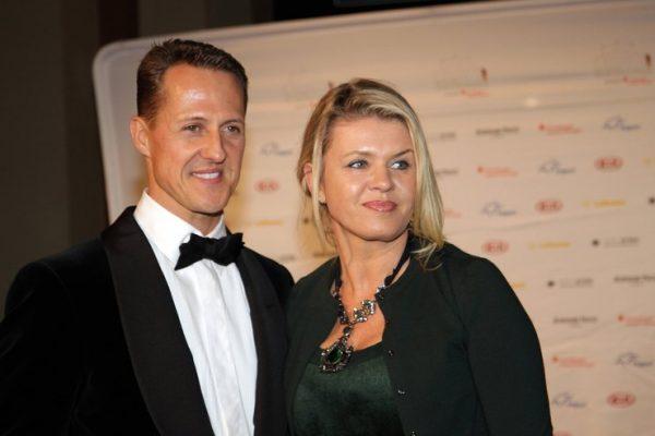 Михаэль с женой Корриной