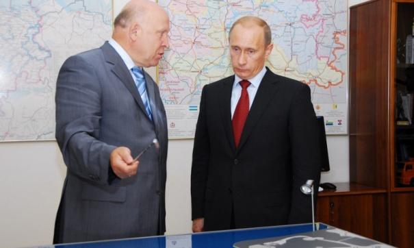 С Владимиром Владимировичем Путиным