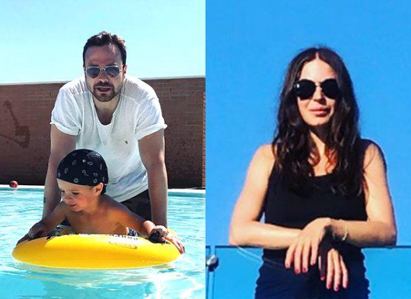Алексей отдыхал в Италии со своим сыном и бывшей женой