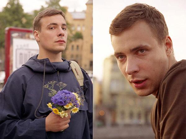 Евгений Цыганов в молодости