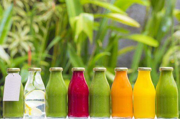 Живые соки из фруктов и овощей