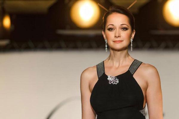 Ольга принимает участие в театральных постновках