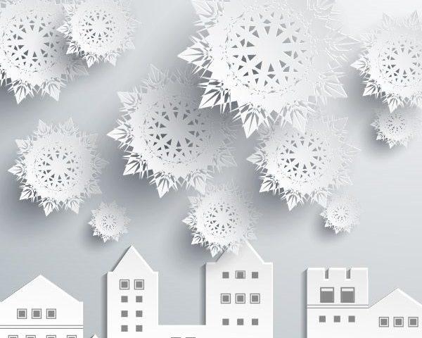 e3b9e9a0c7aa06edc7472c6881872ed8 Объемные снежинки из бумаги своими руками, с эффектом 3D, в форме шара и звезды, с использованием старых газет и втулок от туалетной бумаги