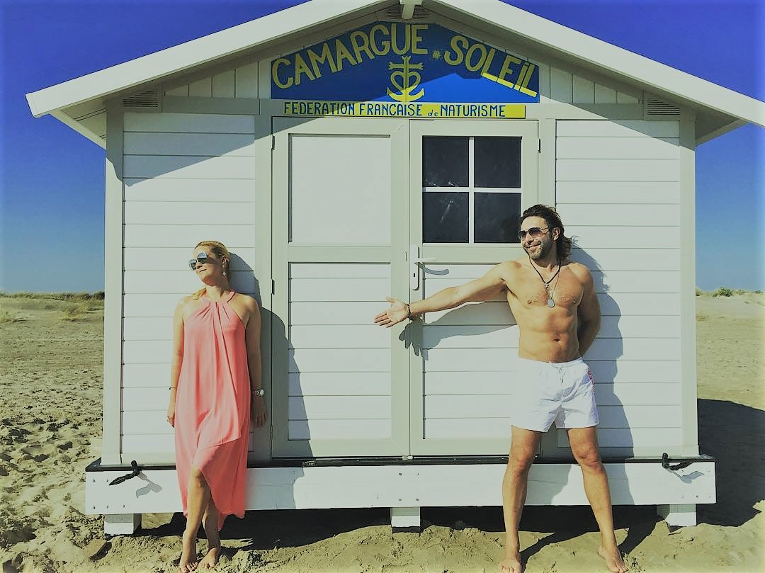 Наталья Шкулева с Андреем на отдыхе