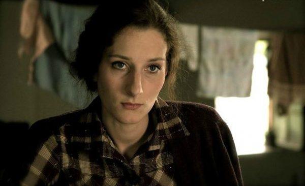 Мария на съемках фильма в роли Фаины Раневской
