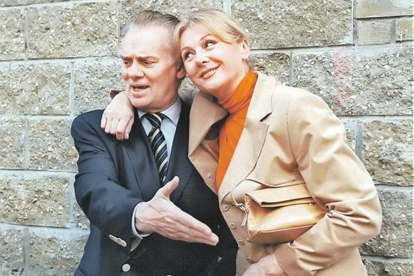 С мужем Владимиром Андреевым