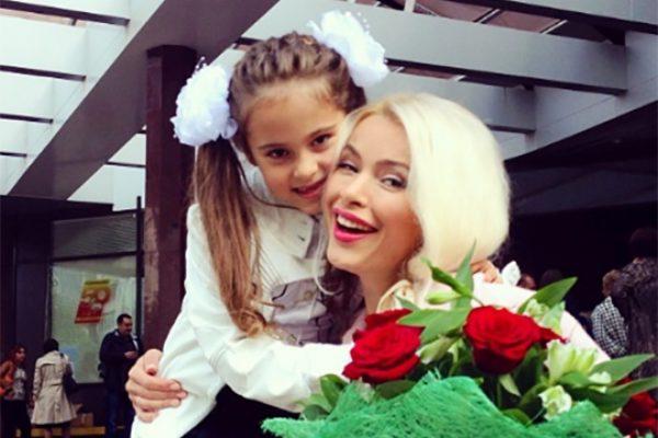 С дочерью Даниэлой