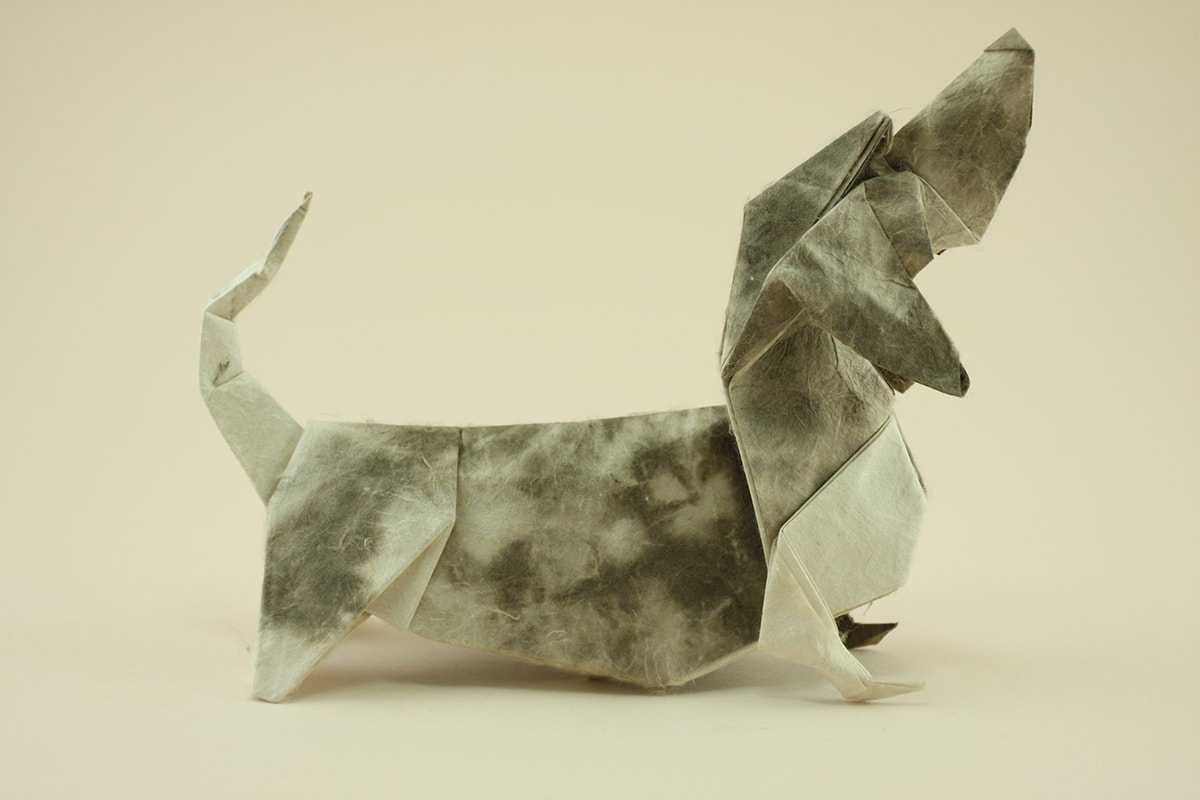 origami-basset-hound