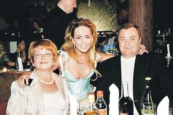 Жанн Фриске со своими родителями