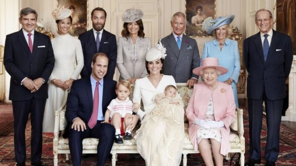 Великая семья английских монархов