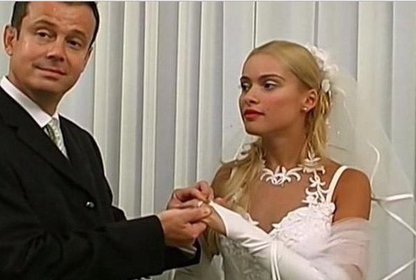 С первым мужем Русланом Кравец
