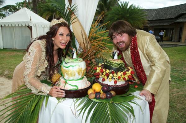 Фото со свадьбы Блёданс и Семина