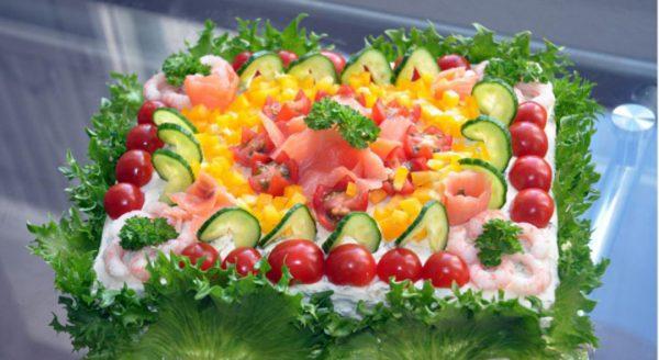 «Соленый» торт