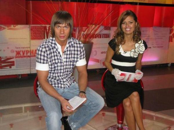 С Викторией Боней на съемках программы «Cosmopolitan. Видеоверсия»
