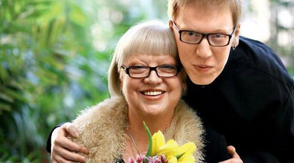 Светлана Крючкова с сыном
