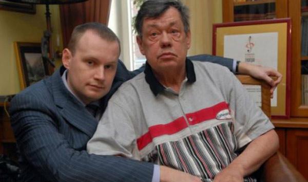 Актер со своим сыном Андреем